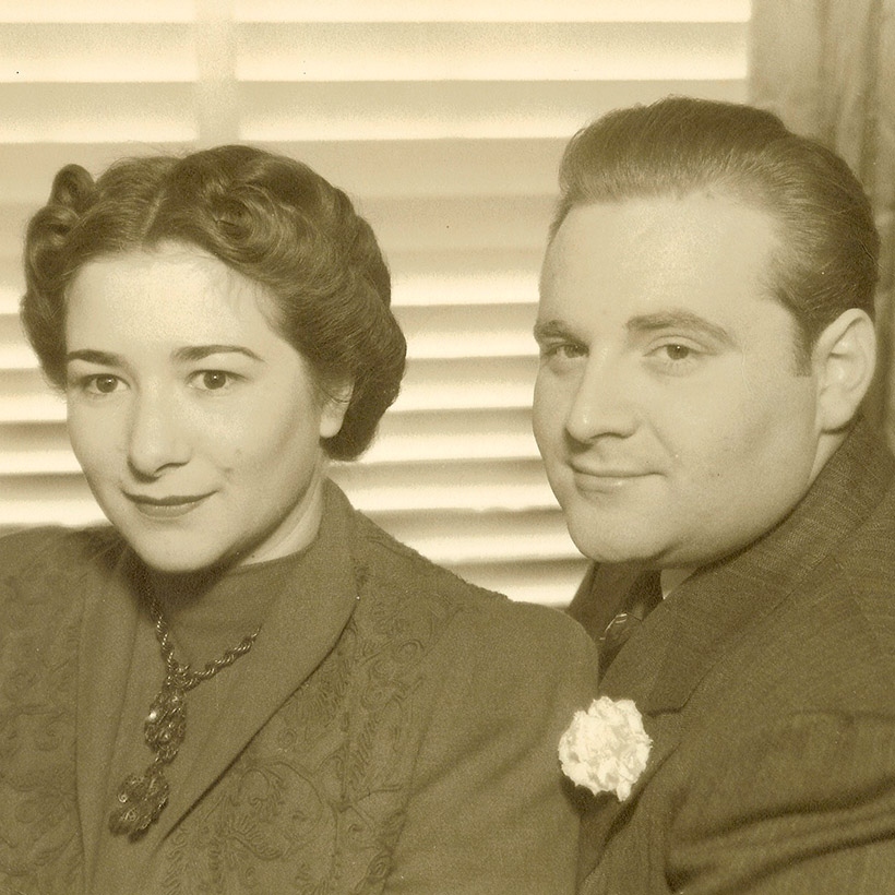 1938 | Eleanor Aller and Felix Slatkin