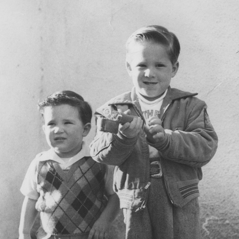 1949 | with Brother Fred