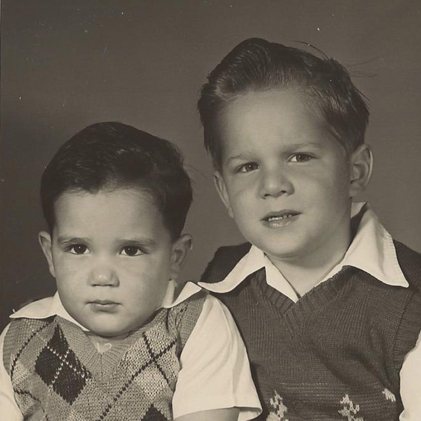 1950 | with Brother Fred
