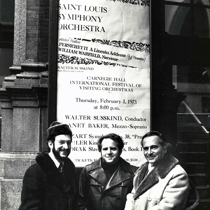 1973 | Carnegie Hall | with Peter Pastreich and Walter Susskind