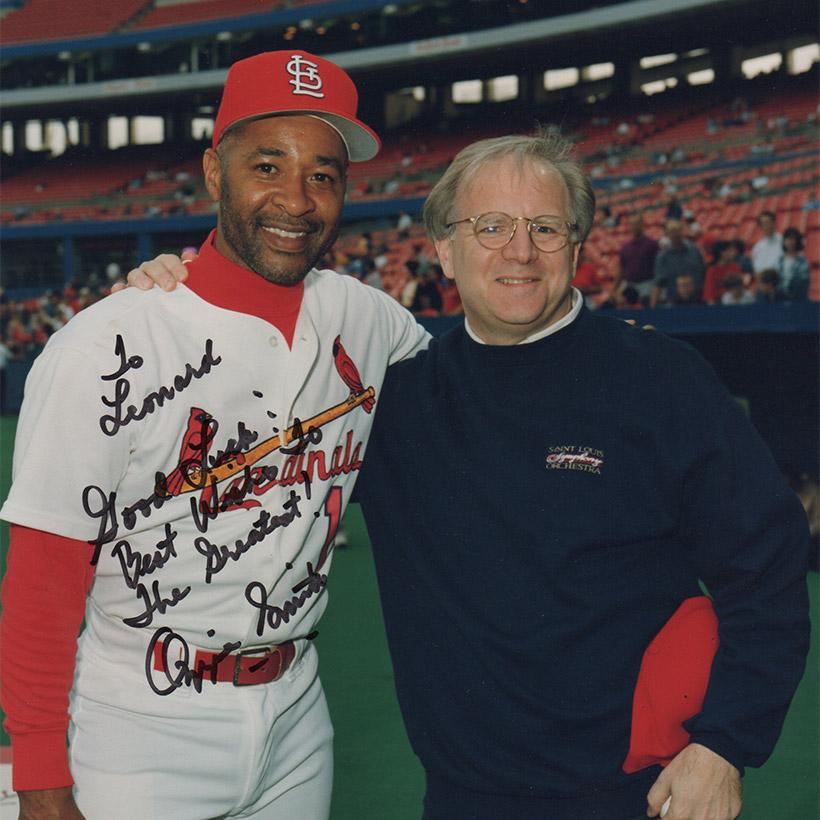 1980   with Ozzie Smith