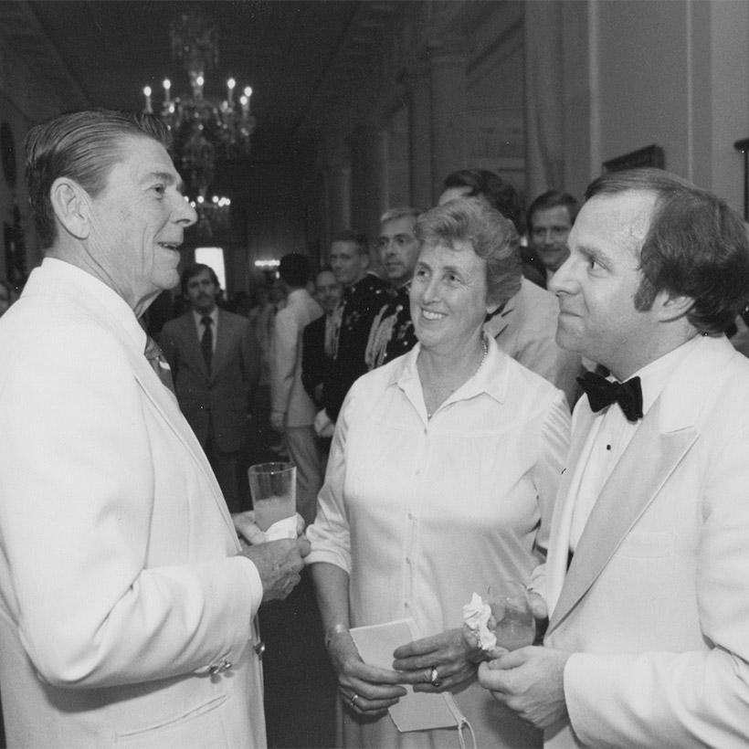 1981 | with Ronald Reagan