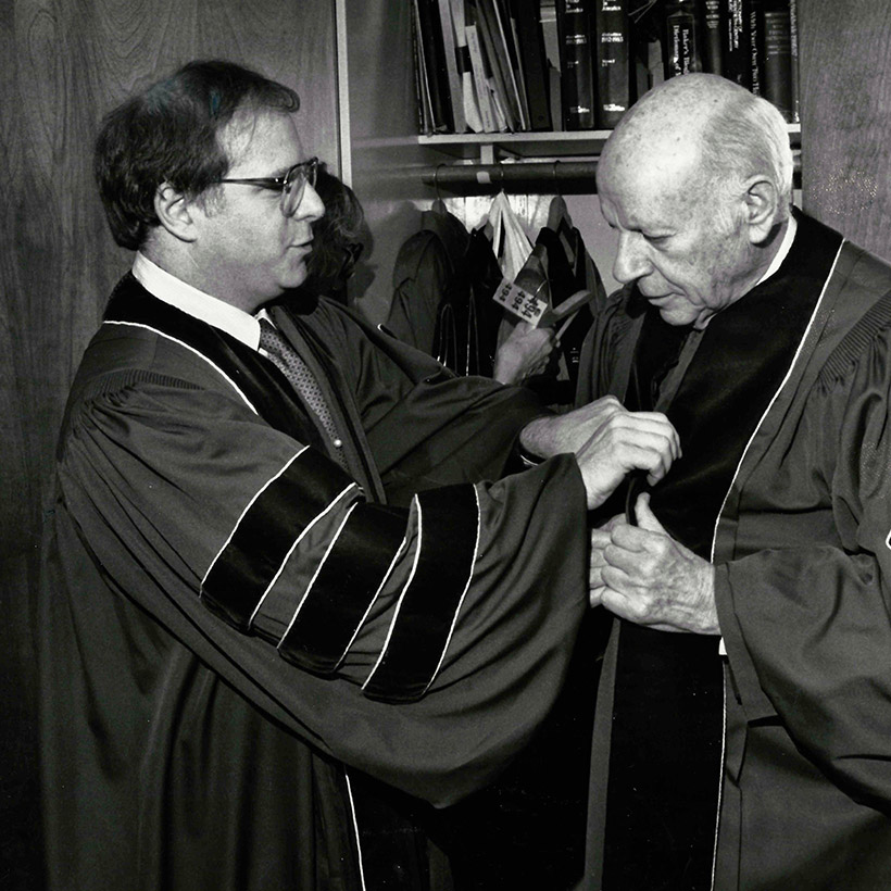 1988 | New York | Honorary Doctorate at Juilliard with William Schuman