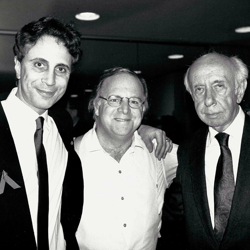 1992 | with John Corigliano and Morton Gould