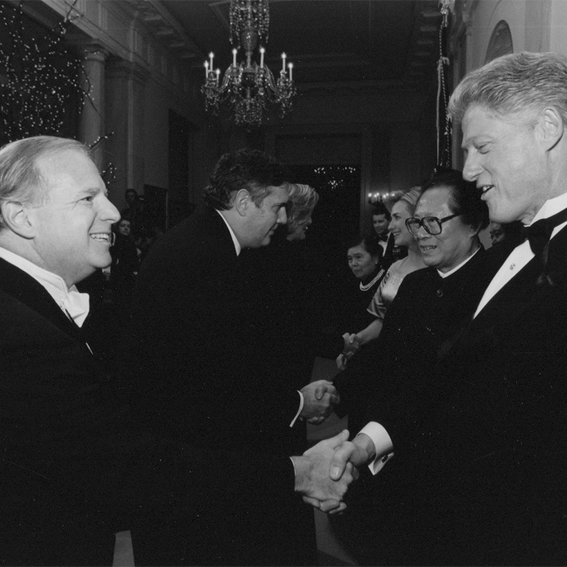 1997 | with President Bill Clinton