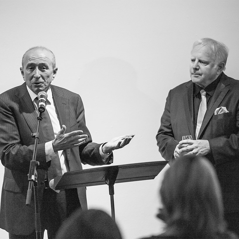 2012 | Lyon | with Mayor Gérard Collomb