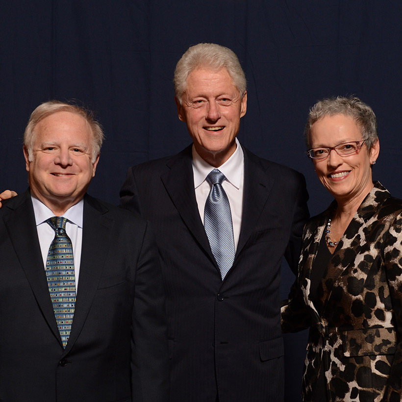 2012 | Pittsburgh | with President Bill Clinton and Cindy