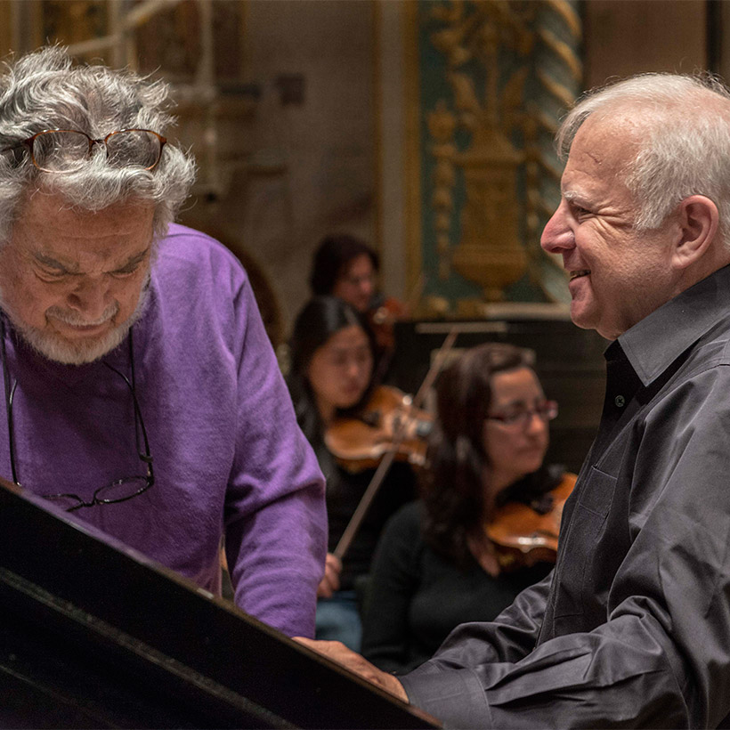 2014 | Detroit | with Leon Fleisher, by Hart Hollman