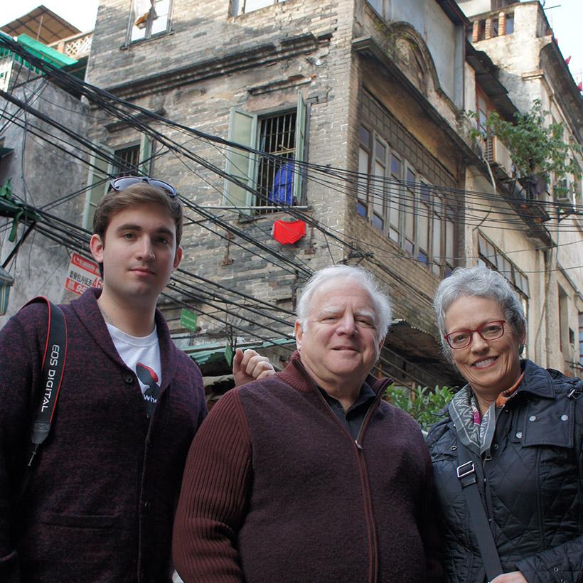 2014 | Guangzhou, China | with Daniel and Cindy