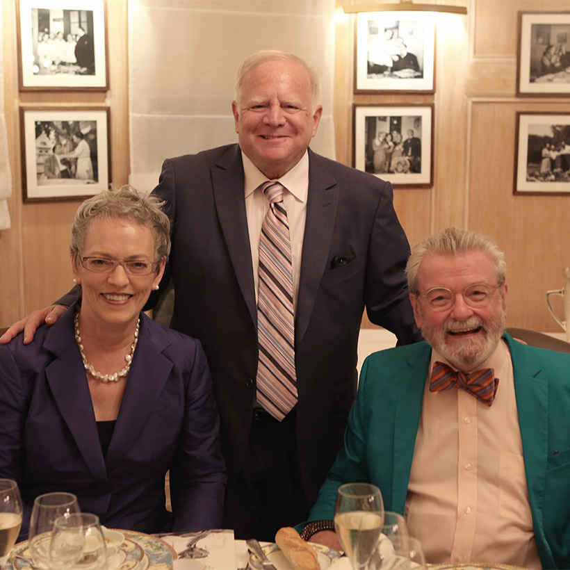 2014 | Lyon | 70th Birthday with Cindy and James Galway