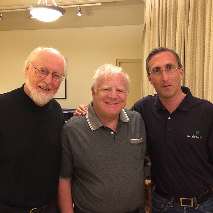 2014 | Tanglewood | with John Williams and Francois Dru