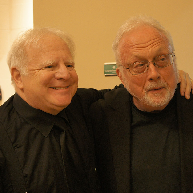 2014 | Tanglewood | with William Bolcom