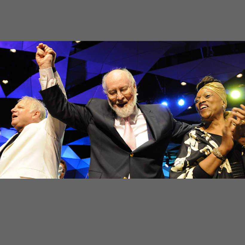 2012 | Tanglewood | with John Williams and Jessye Norman