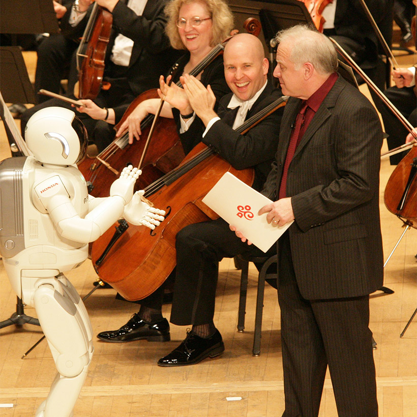 2008 | Detroit | with ASIMO and DSO