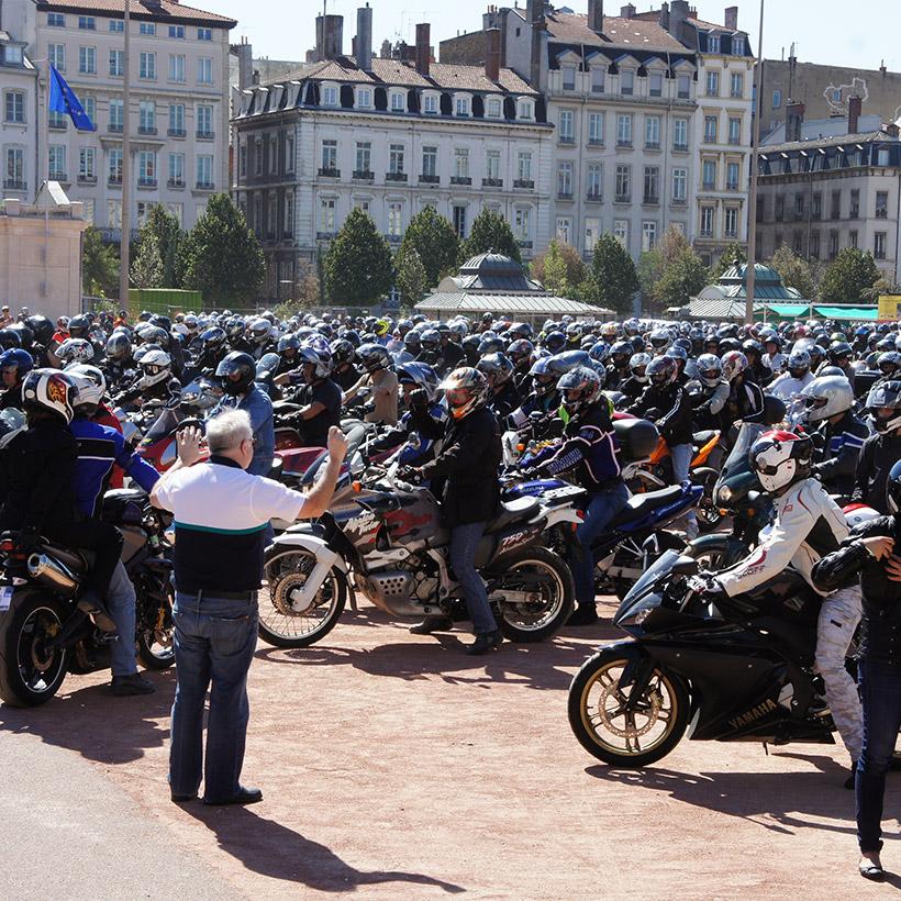 2011 | Lyon | Motorcycle Demonstration